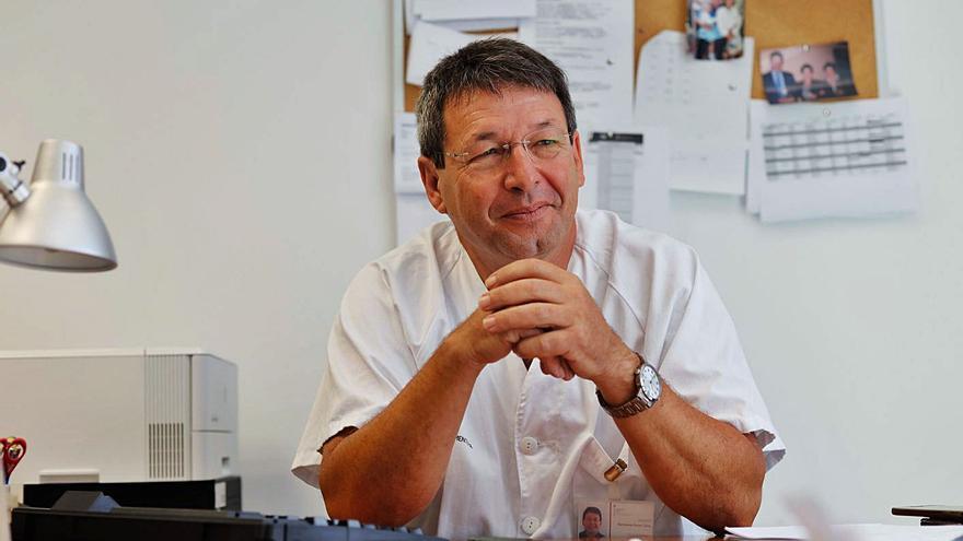 Bartolomé Bonet: «El equipo de Pediatría de Can Misses es el más pequeño de todos los hospitales de Baleares»