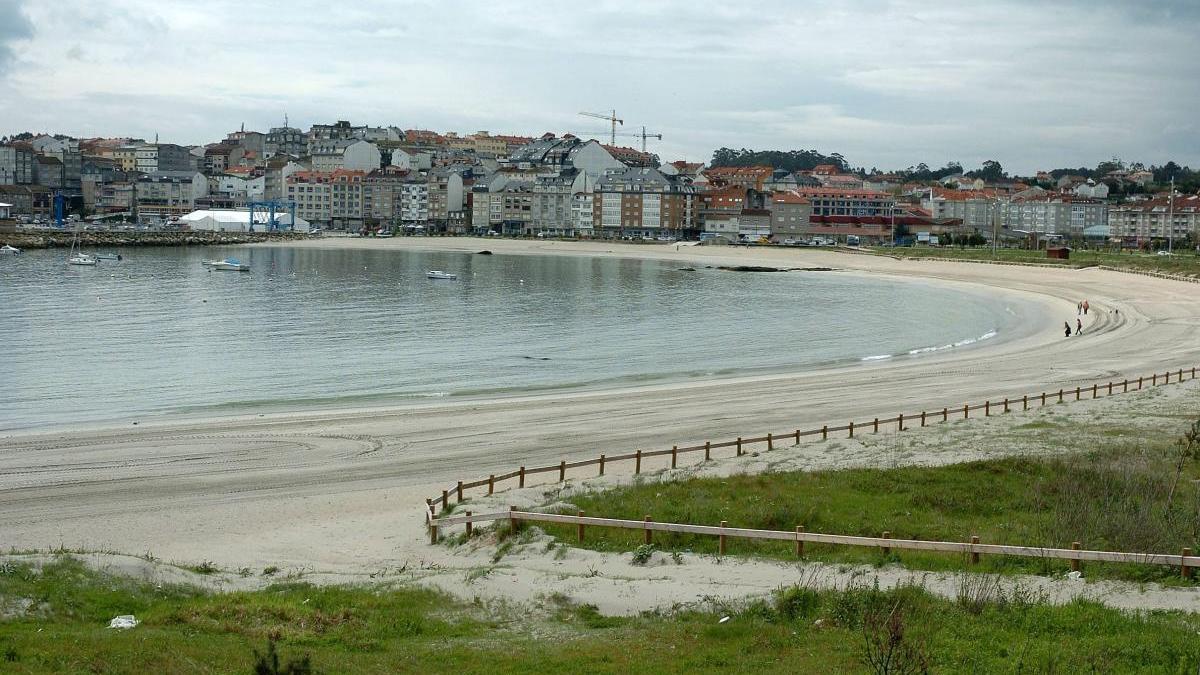 Vista de la playa de Baltar (archivo). // G. Santos