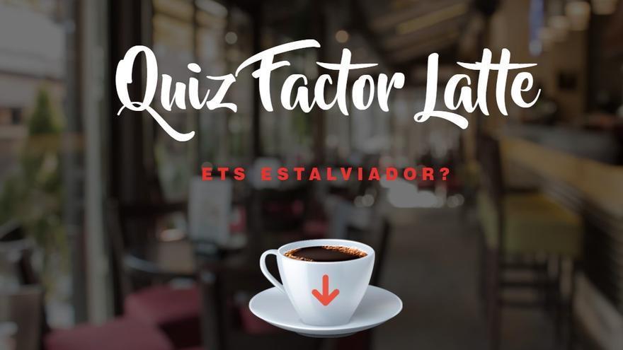 Què tenen en comú un cafè amb llet i una formiga?  Fes el quiz!!