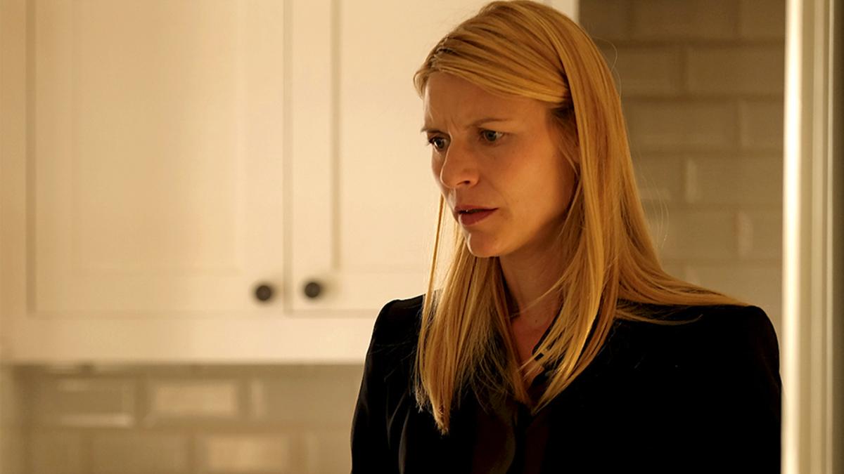 Claire Danes, Carrie Mathison en 'Homeland'.