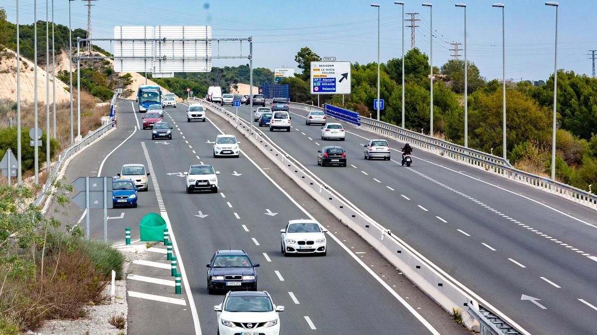 El tramo de la N-332 cuya cesión ha denegado Fomento a Benidorm.