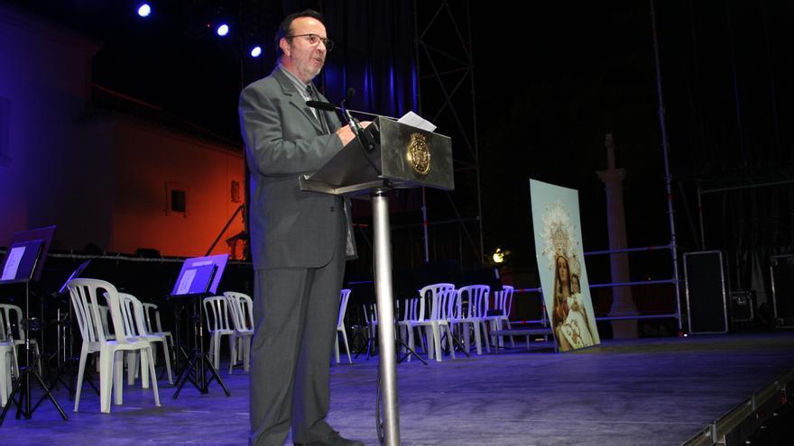 Las goteras en el santuario patronal se 'cuelan' en el pregón de la 'Feria Chica' de Lorca