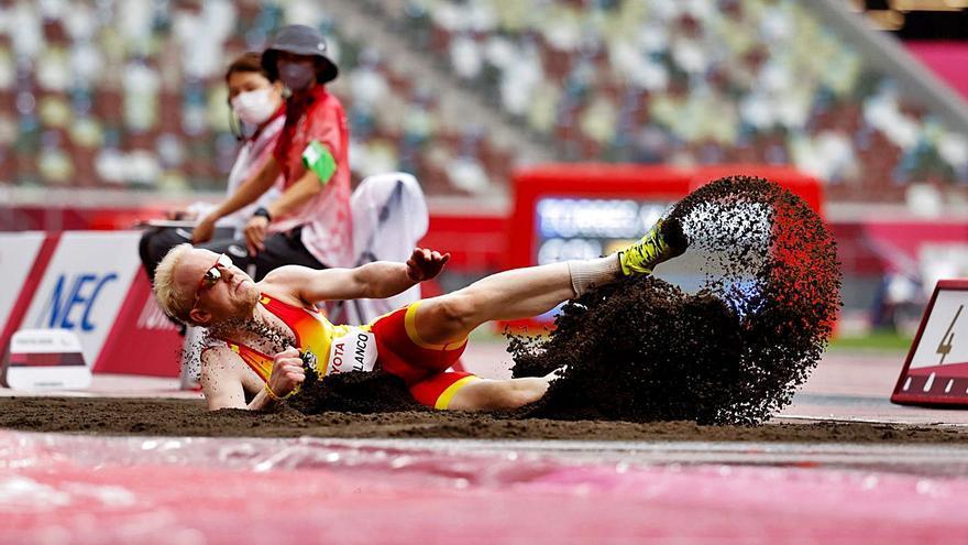 Salto de plata para  Iván Cano en Tokio