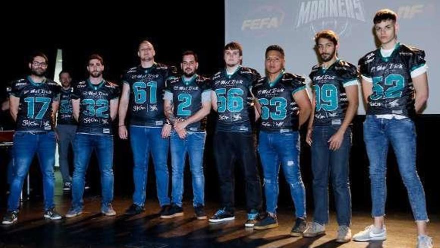 Los Gijón Mariners presentan su plantilla para la presente temporada