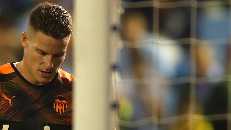 Trabajo por rematar en el ataque del Valencia CF