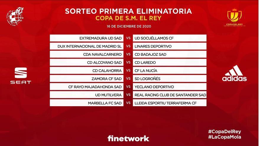 Alcoyano-Laredo y Calahorra-La Nucía, en la primera eliminatoria de Copa