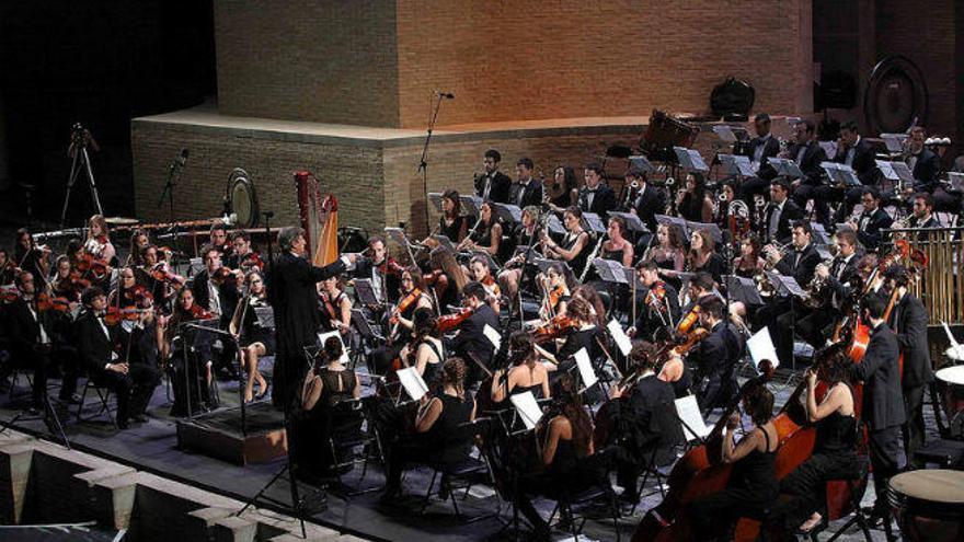 La Joven Orquesta de la Generalitat rinde tributo a Manuel Galduf en les Arts
