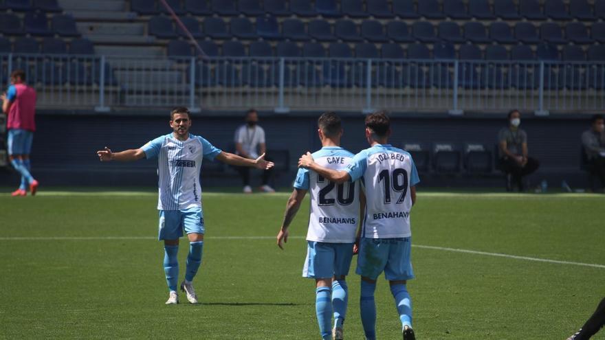 Así ha jugado la plantilla del Málaga CF en su victoria ante el Albacete