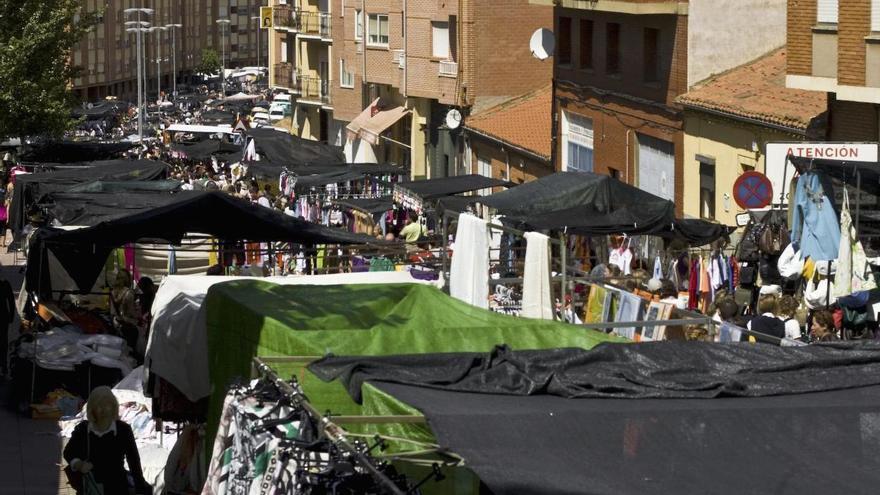 El mercado ambulante de Benavente de la semana que viene cambia de fecha