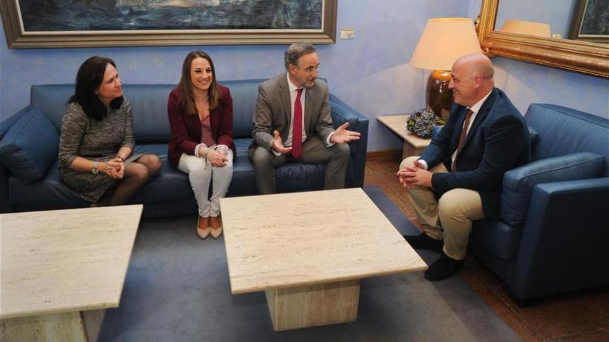 Diputación y Junta colaborarán para paliar los daños de las lluvias en la provincia