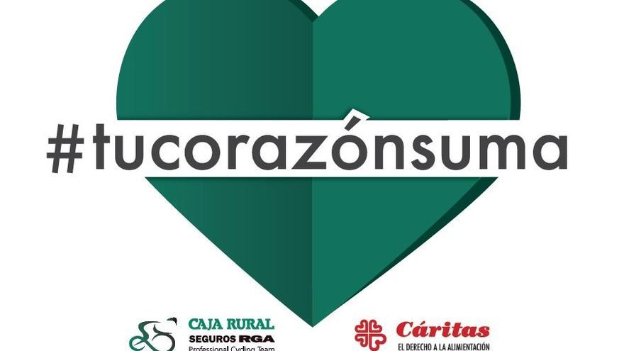 """""""Tú corazón suma"""", campaña solidaria de Caja Rural"""
