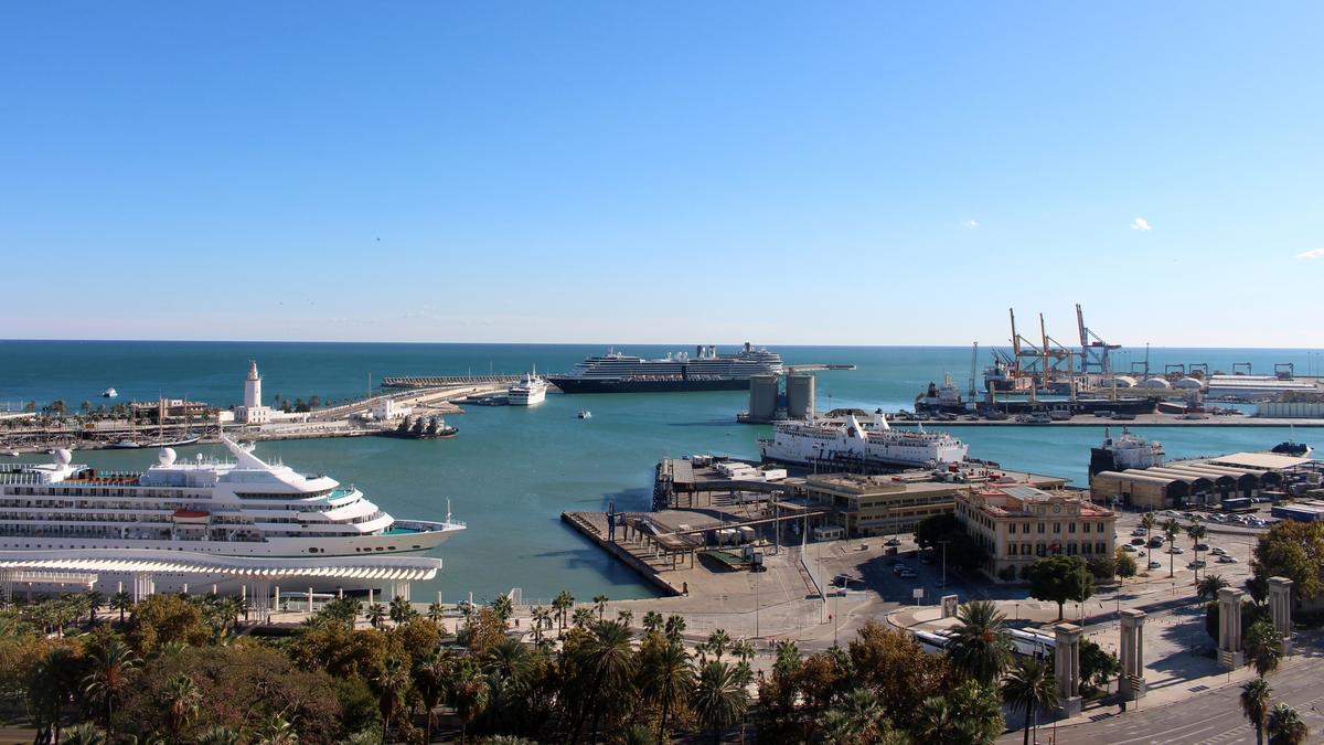 Imagen del Puerto de Málaga.
