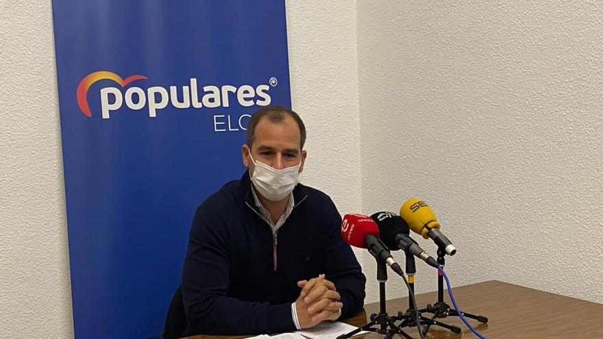 """El PP de Elche dice que PSOE y Compromís """"no trabajan"""" por la baja ejecución del presupuesto"""