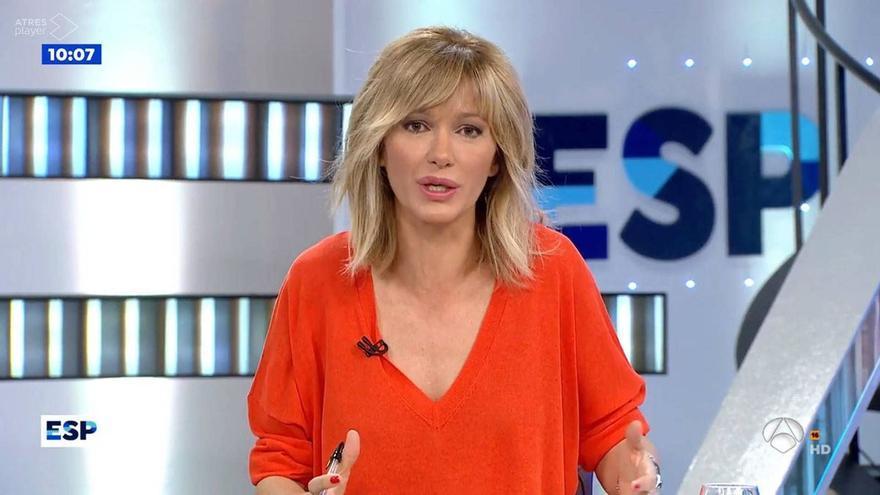 """La sorpresa de Susanna Griso por """"el condón sanitario"""""""