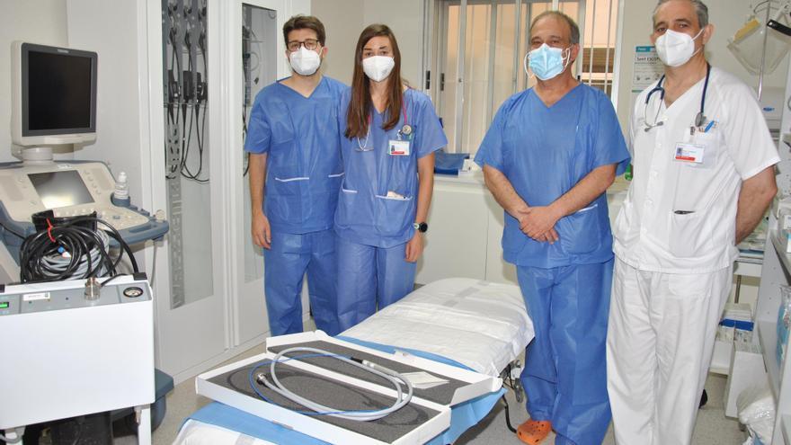 Castelló realiza la primera criobiopsia pulmonar y se equipara al resto de provincias de la Comunitat