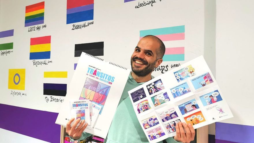 Algarabía lanza un cómic para visibilizar las realidades de personas trans