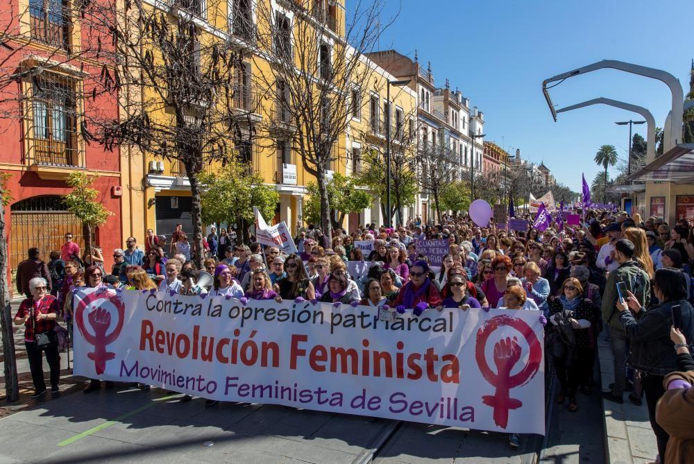 Manifestación Dia Internacional de las Mujeres