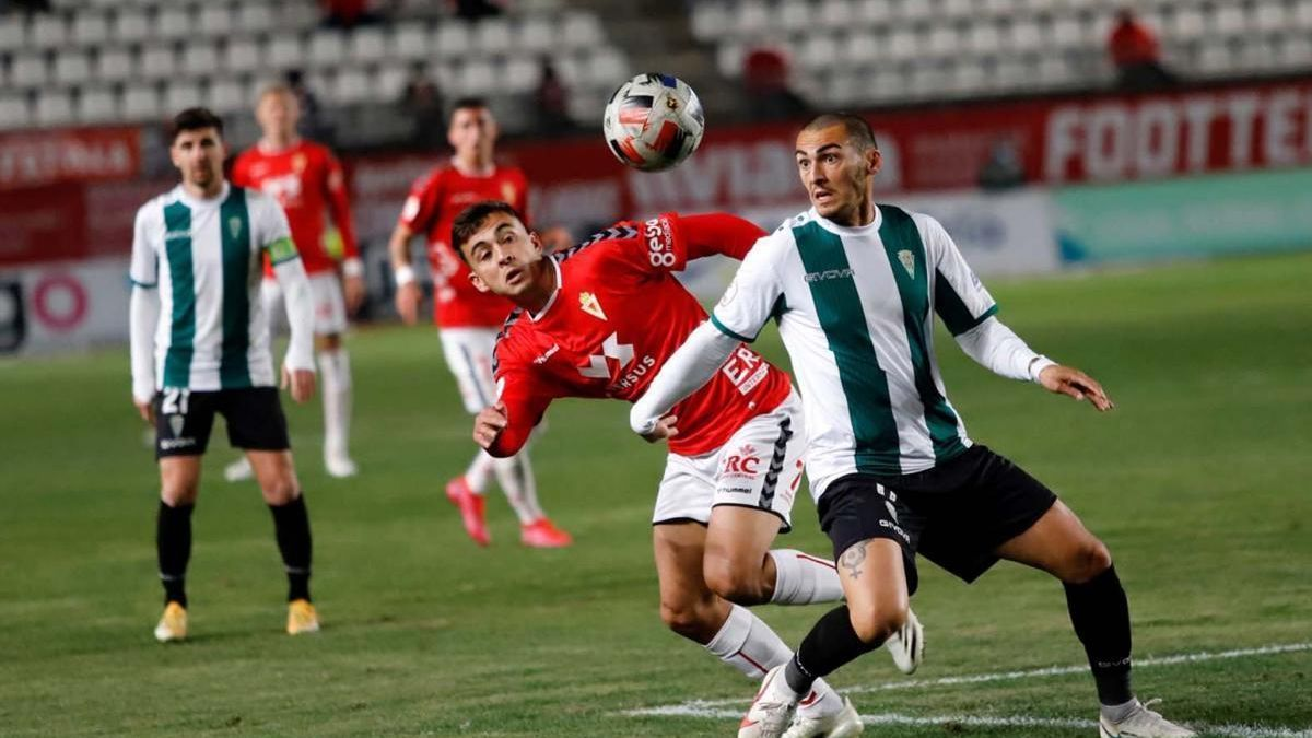 El Córdoba CF-Real Murcia, el domingo 7 de marzo a las 18.00 horas en El Arcángel