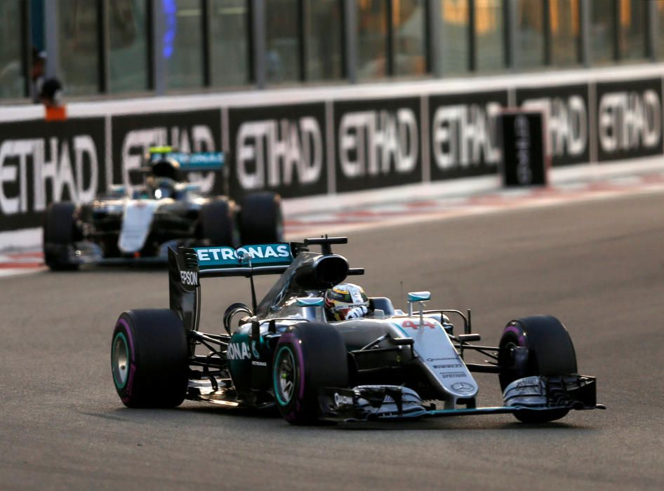 Imágenes del Gran Premio de Fórmula 1 de Abu Dhabi.