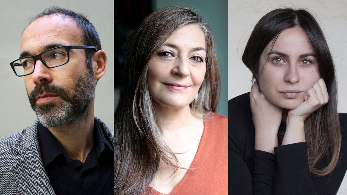Los autores Gabi Martínez, Olga Merino y María Sánchez protagonizan una mesa redonda en Castelló.