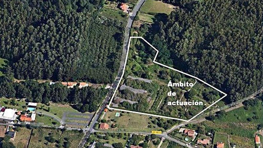 La Xunta agiliza el plan para un polígono en Lubre pese a prever impacto negativo