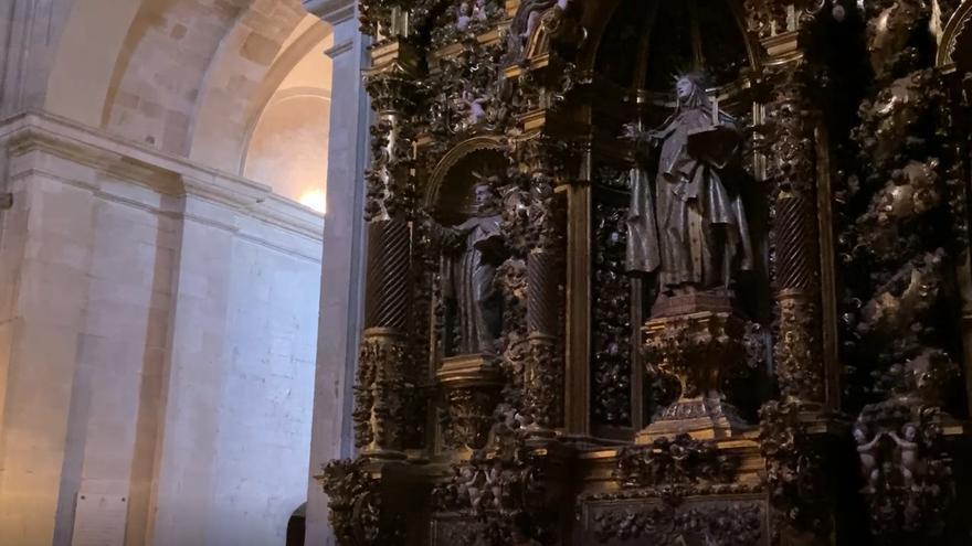 Los tesoros ocultos de la Catedral de Oviedo: el retablo de Santa Teresa