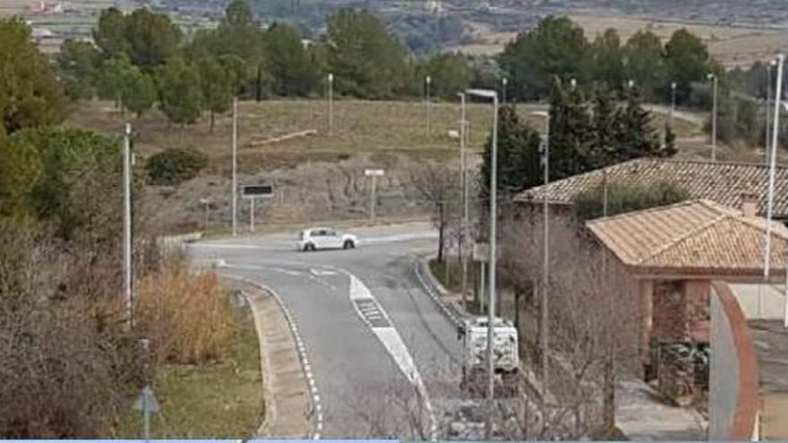 Castellgalí farà una nova rotonda i un aparcament a l'avinguda de Montserrat