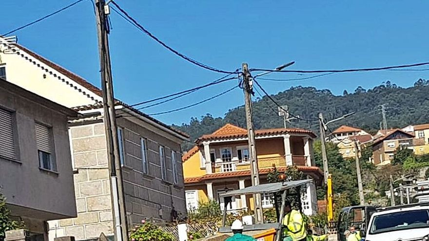 Currás recuerda a la Xunta que sigue pendiente la senda de la PO-313 hasta el mirador da Fraga