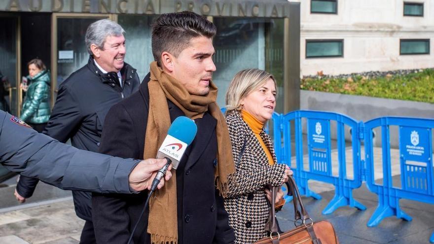 El exjugador zamorano de la Arandina, Raúl Calvo, en una imagen reciente.
