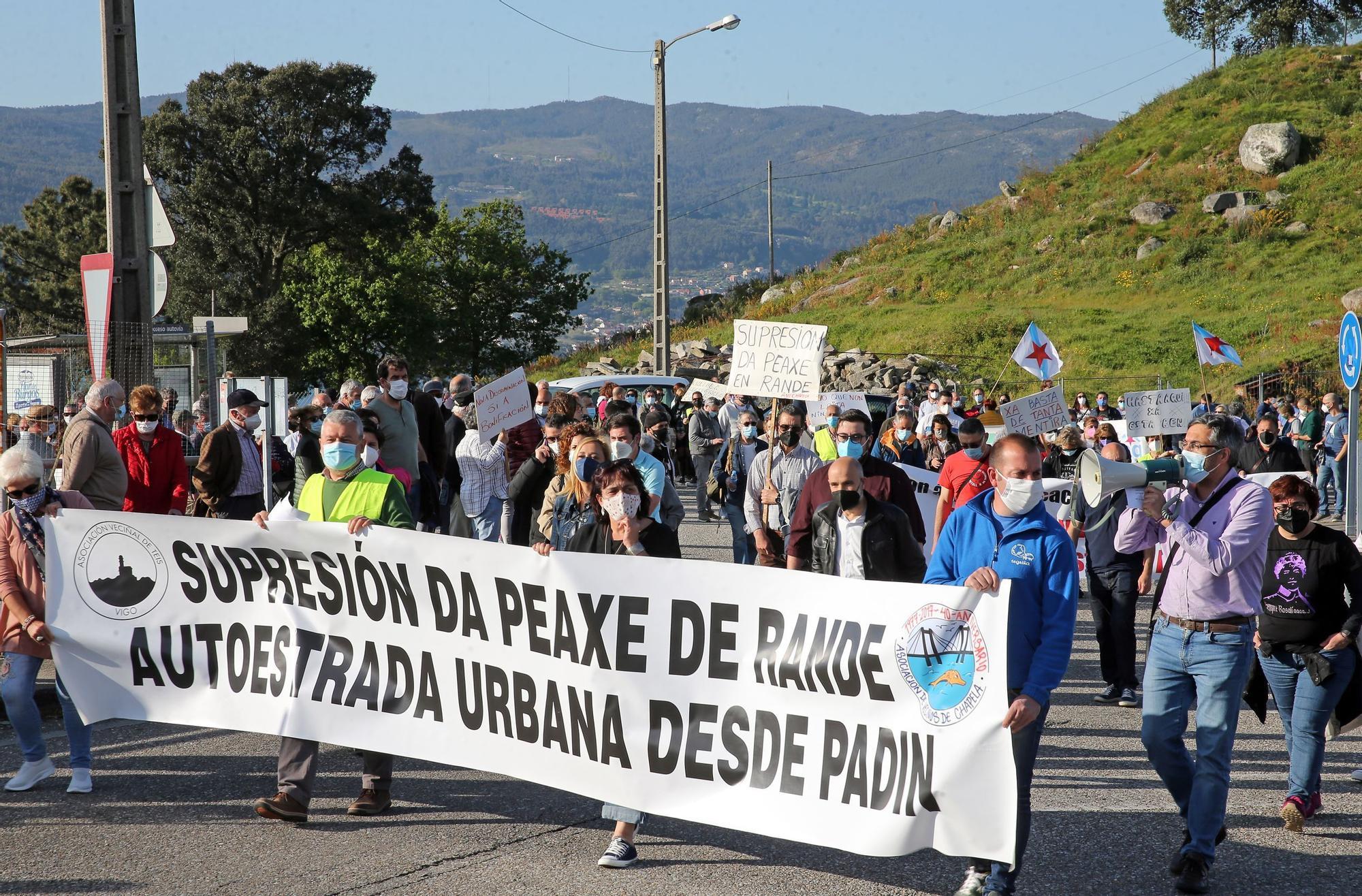 Clamor vecinal contra el peaje entre Vigo y Redondela