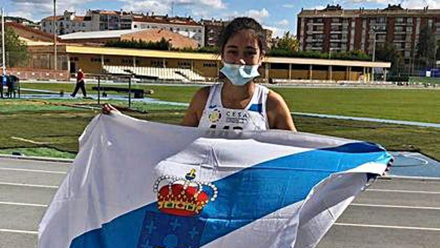 Celia Castro cierra su gran temporada entre la élite