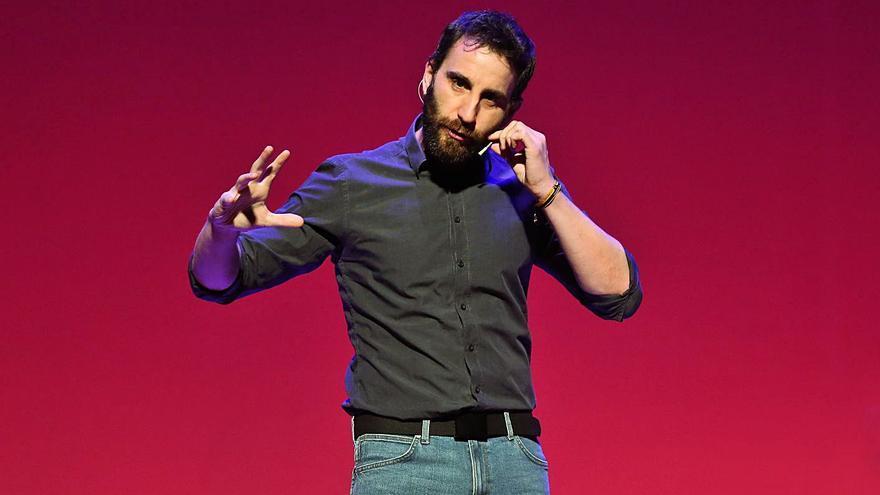 Dani Rovira regresa a los escenarios con el monólogo 'Odio', que emitirá Netflix