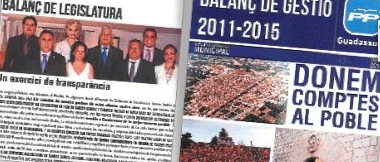 La Junta Electoral fuerza la retirada del BIM que se apropió el PP de Guadassuar