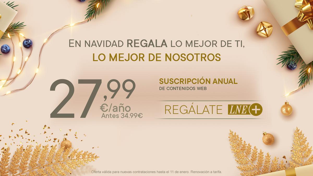 Campaña promoción Navidad LNE