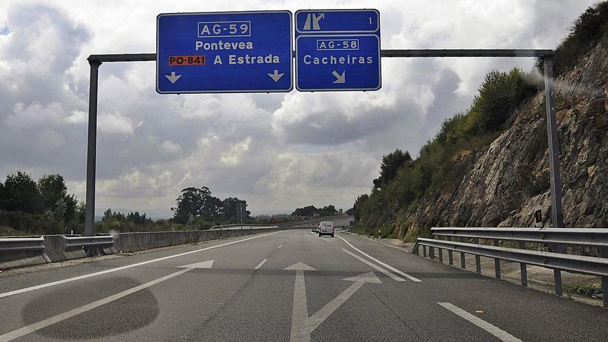 El COVID pasa factura al crecimiento sostenido de los dos tramos de la autovía A Estrada-Santiago
