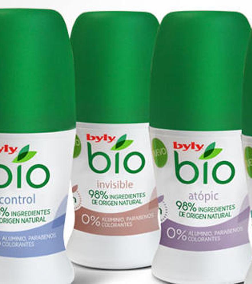 Sanidad retira unos lotes del desodorante Byly Bio por contaminación