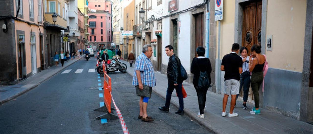 Comienzo de las obras del carril bici en Malteses.