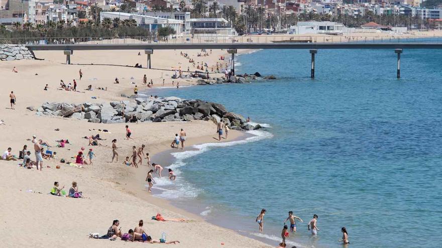 Un día de playa para alejarse de los problemas