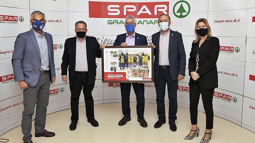 SPAR Gran Canaria renueva su apoyo, por séptimo año seguido, al CB Islas Canarias