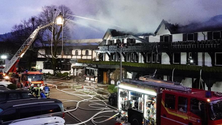 Un incendio destruye un restaurante tres estrellas Michelin