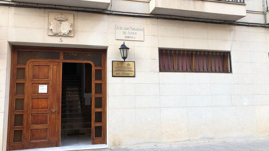 PP y Cs apoyan la declaración del Juzgado de Aguas de Orihuela como Tribunal Consuetudinario