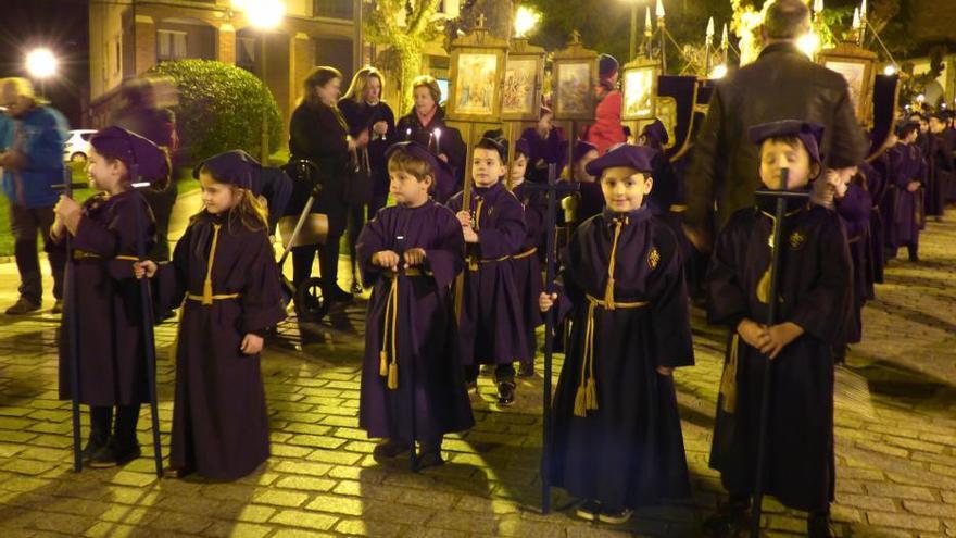 Procesión del Santo Encuentro en Villaviciosa