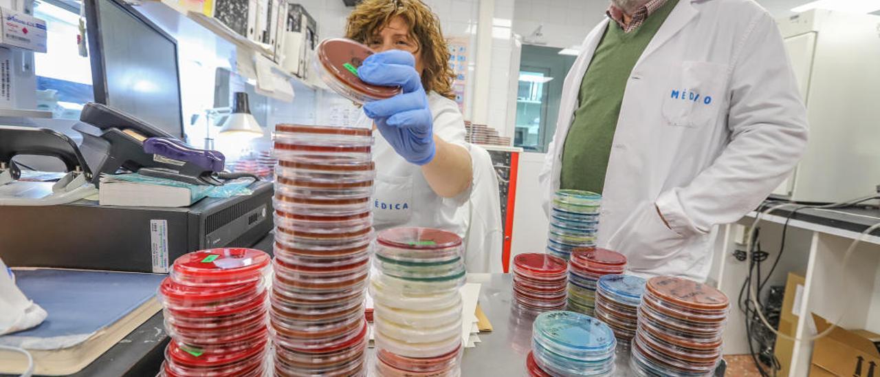 El experto en medicina preventiva, José María López, en el laboratorio del Hospital Vega Baja donde desarrolla gran parte de la investigación.
