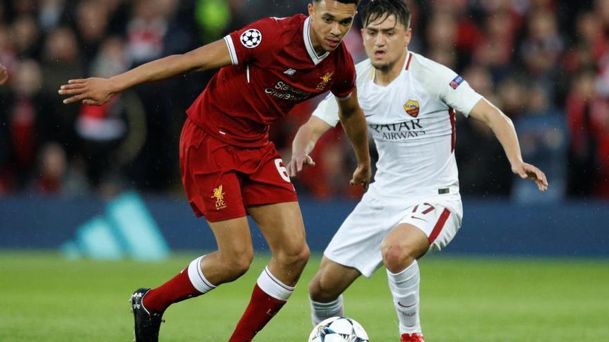 Salah catapulta al Liverpool y obliga a la Roma a otra hazaña
