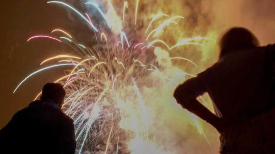 Los fuegos artificiales de Corvera, suspendidos