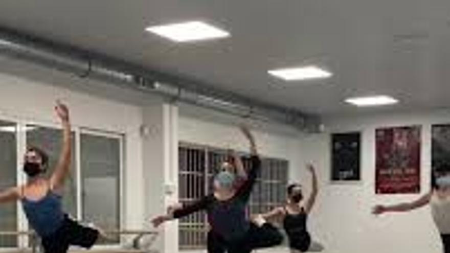 Muestra ballet clásico Centro de Danza de Torremolinos