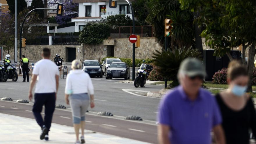 Lunes, 11 de mayo | Reabre de nuevo al tráfico el Paseo Marítimo Ruiz Picasso
