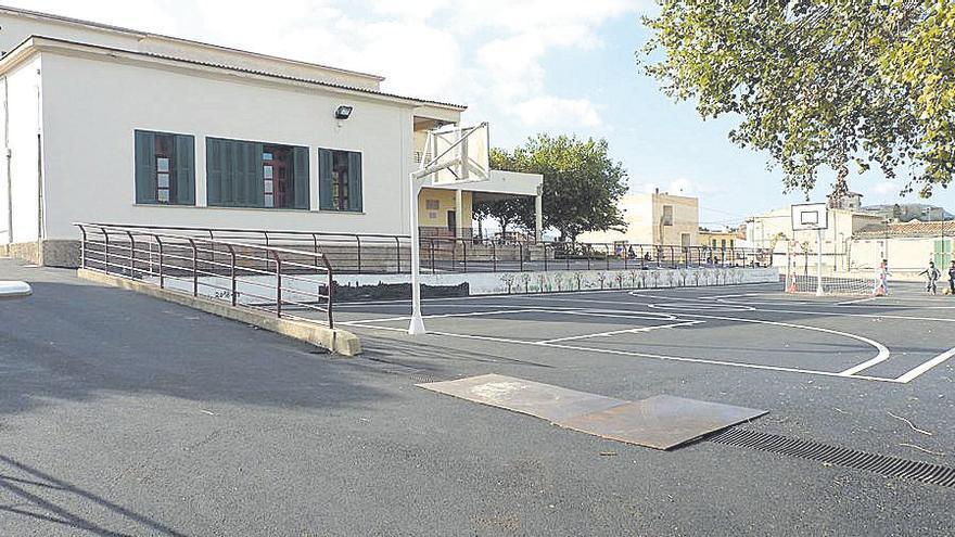 Culminan mejoras en el colegio público Joan Mas i Verd de Montuïri