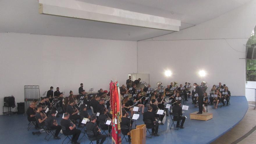 La Banda Les Sitges de Burjassot es retroba amb el públic el Dia Europeu de la Música