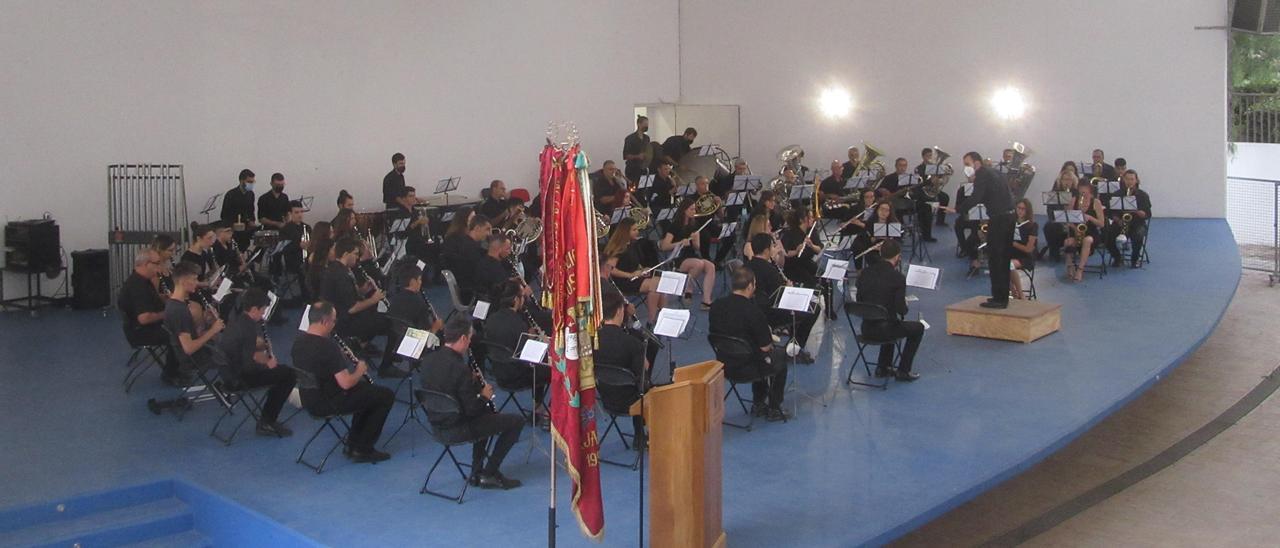 Concert de la banda de les Sitges.